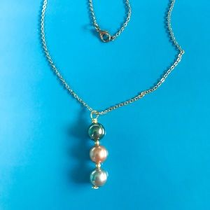 Jewelry - Triple Pearl Necklace